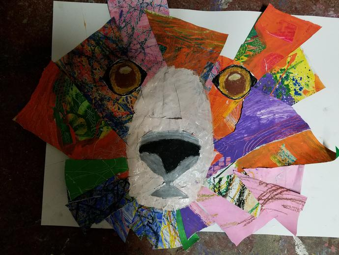 Colorful Kids Art Lessons